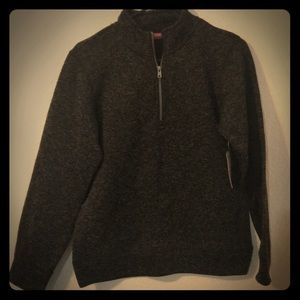 Boys half zip sweatshirt